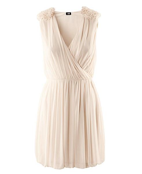 Deep V Dress Sleeveless Dress with Ruffled Shoulders