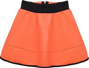 Deer Print Black Sweatshirt + High Waist Skirt