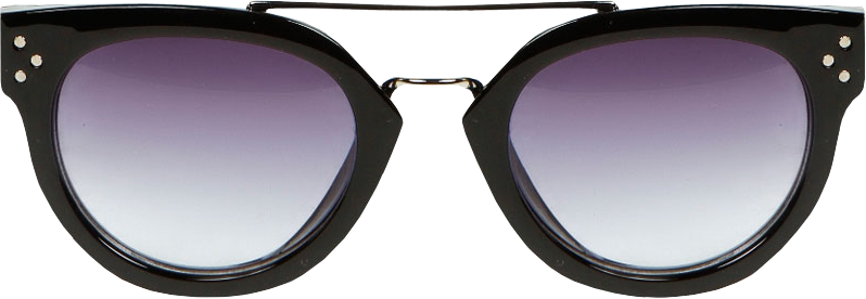 Rosie Metal Bridge Detail Sunglasses