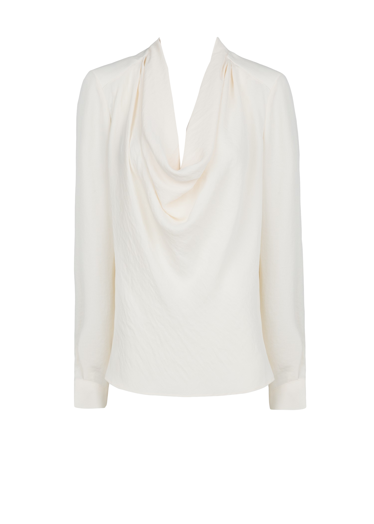Cowl neck flowy blouse