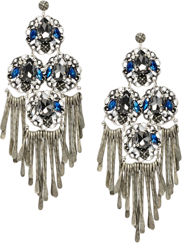 ASOS Solstice Earrings with Tough Jewels