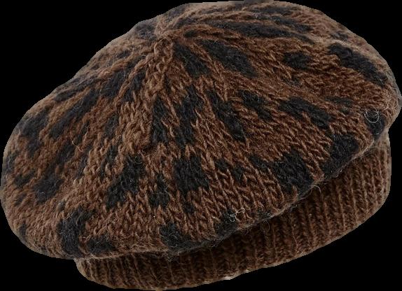 People Tree Animal Print Hat