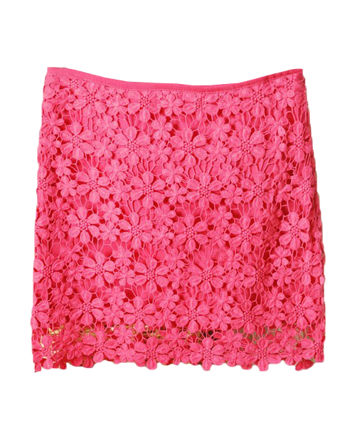 Rhodo Body-con Fit Lace Skirt