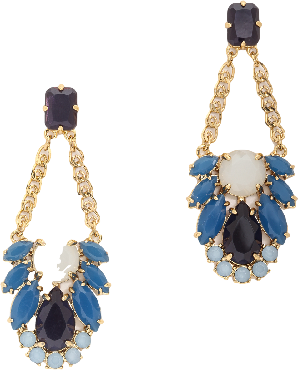 Steamer Glow Statement Earrings
