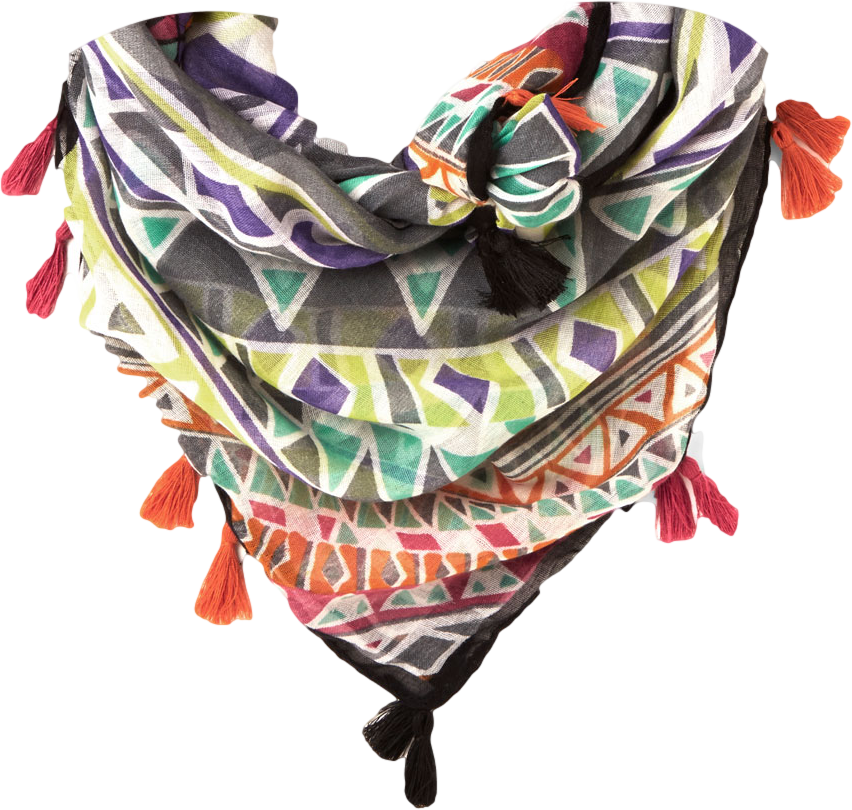 Congruent and Colorful Scarf
