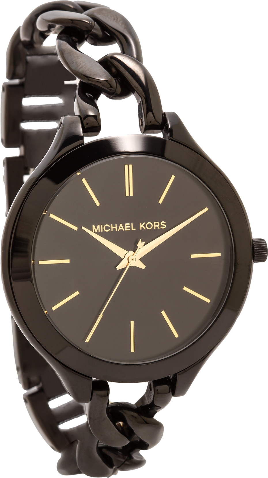 Midnight Safari Slim Runway Twist Watch
