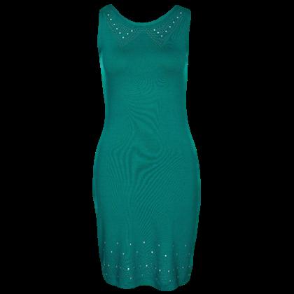 Jersey dress - green