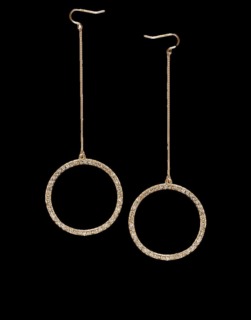 ASOS Hoop Through Earrings