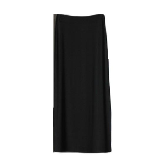 Pure Color Modal Long Skirt