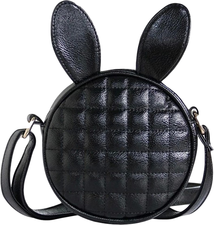 Cat Ears Quilted Cross Body Bag