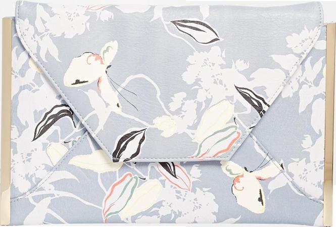 Oasis Kimono Print Clutch Bag