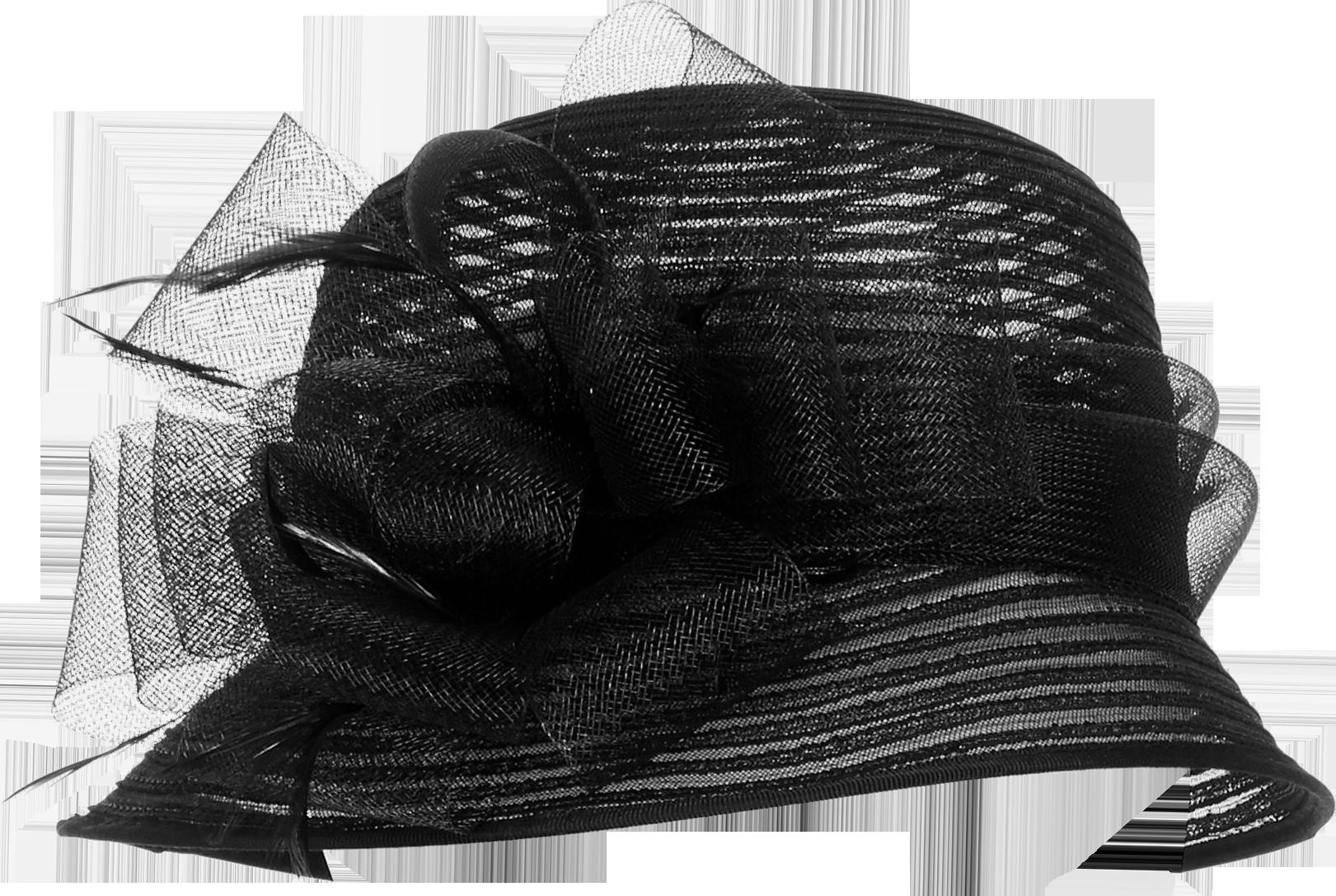 Sinamay Cloche Hat