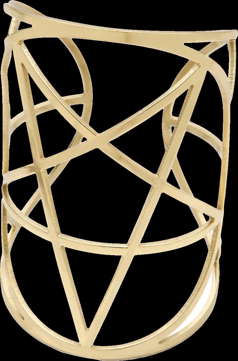 Mini Pentagram Cuff