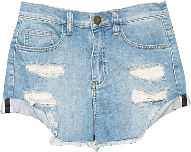 Beach Denim Shorts