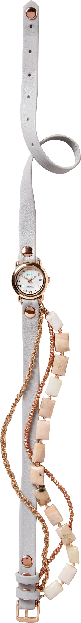 Pink Opal Wrap Watch