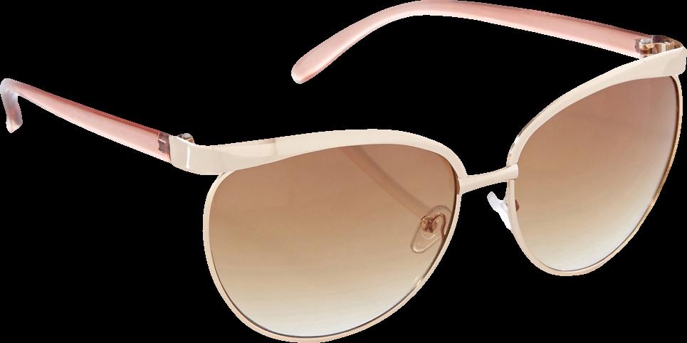 Oversized Metal Frames Sunglasses