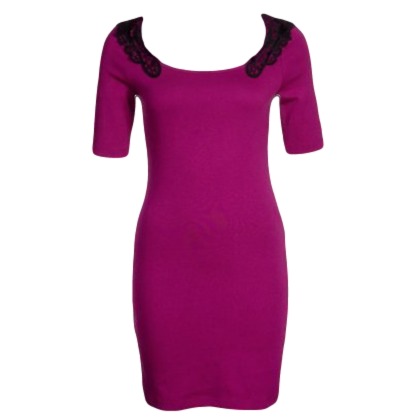 Jersey dress - purple