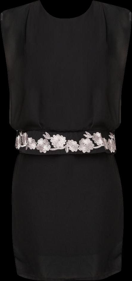 Agness Chiffon Dress