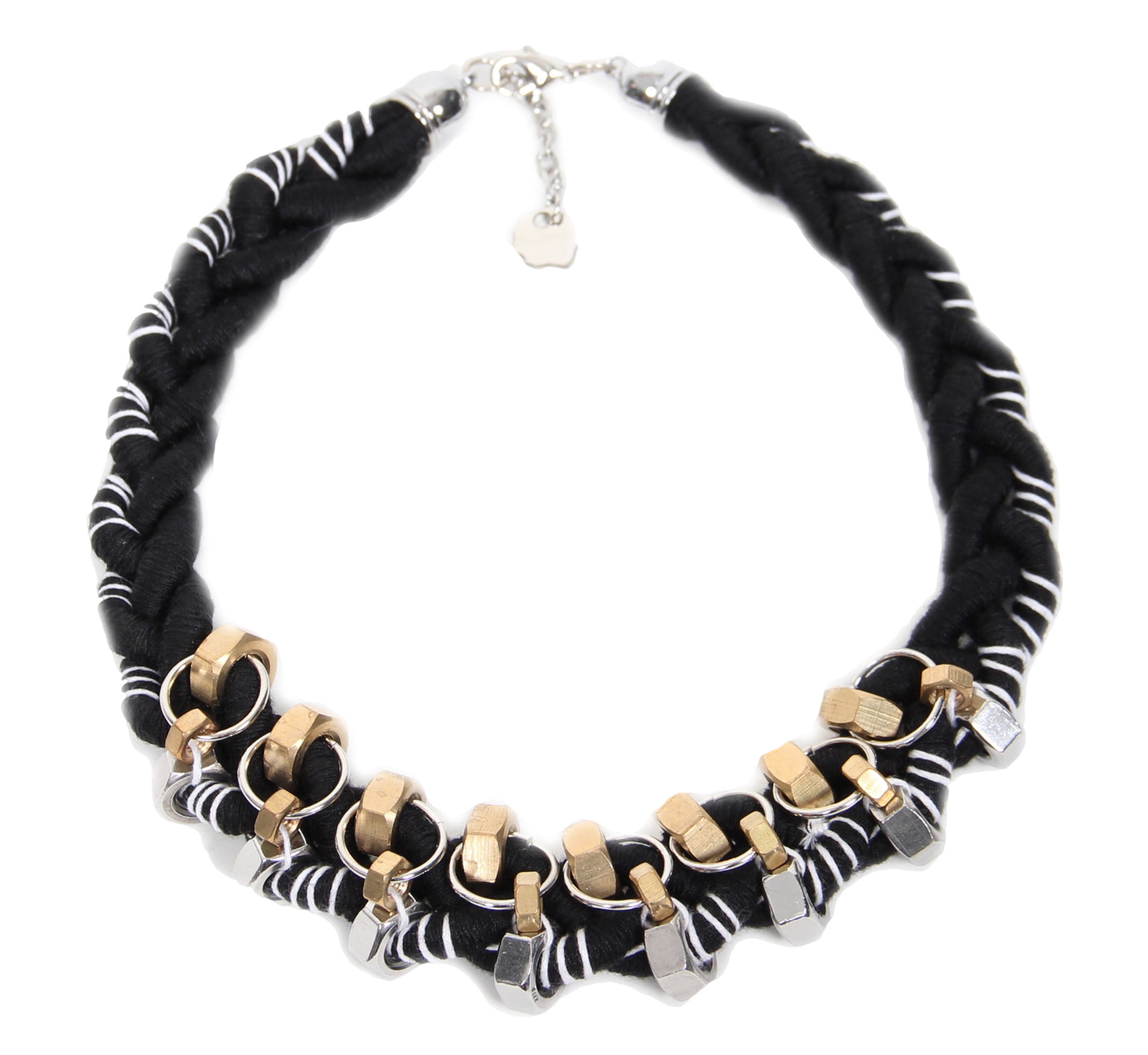 Black Ferris Necklace