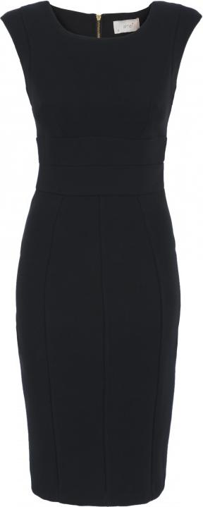 ALMARI Curve Waist Panel Dress