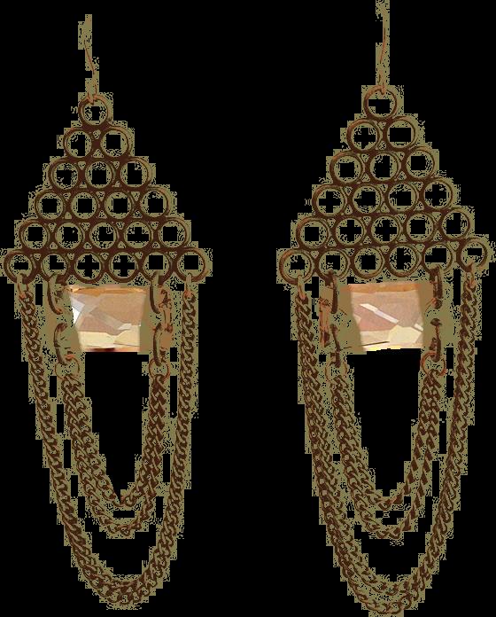 Gatsby Swarovski Crystal Earrings