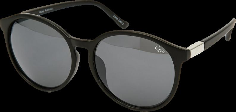 Quay Flyn Round Sunglasses
