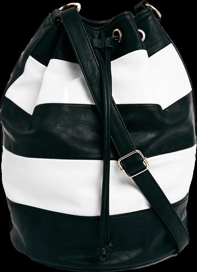ASOS Striped Duffle Bag