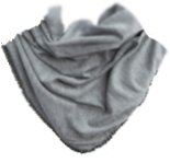 Chain triangle scarf