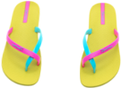 Neon Thong Sandals