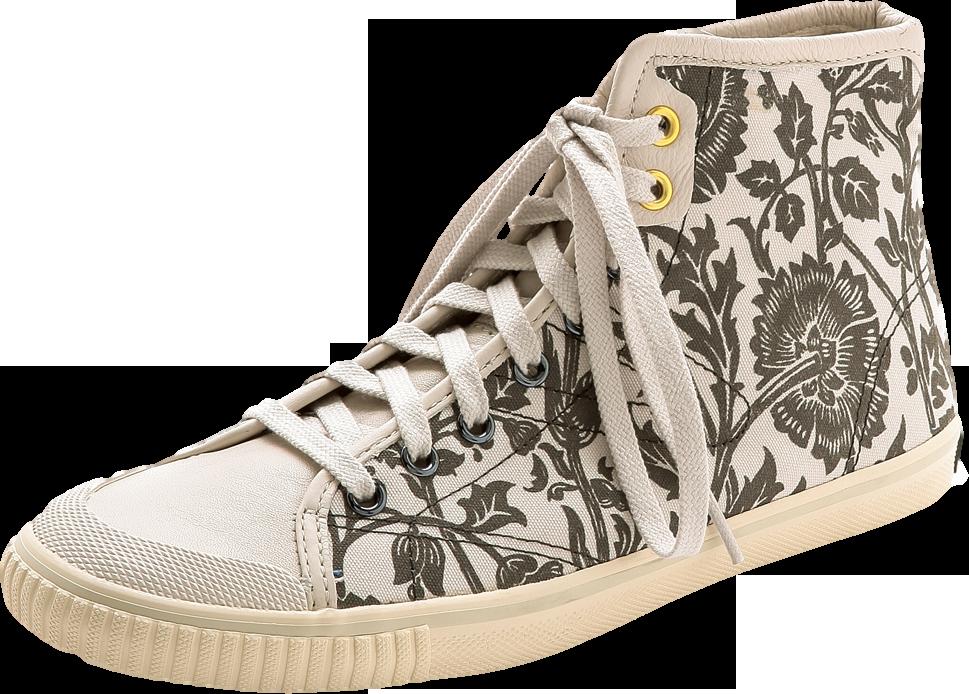 Seksti William Morris High Top Sneakers