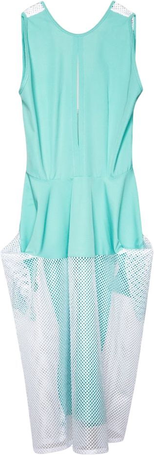 Mint Yoke Skirt Dress