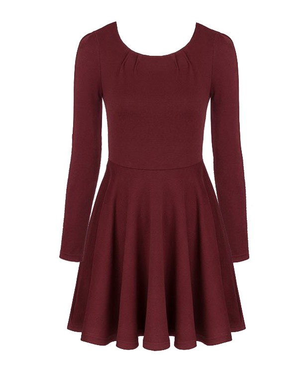 Bodycon Woolen Dress