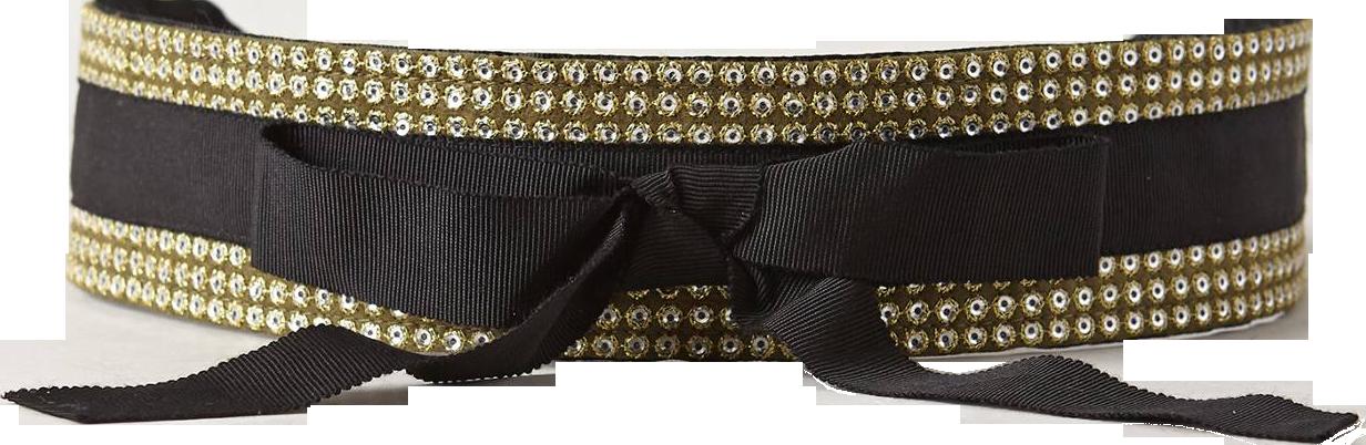 Claudette Sequin Belt