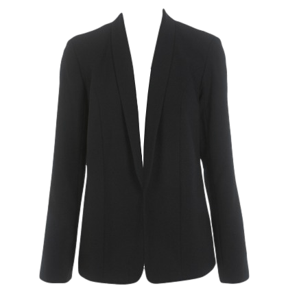 LADDER BACK DETAIL BLAZER