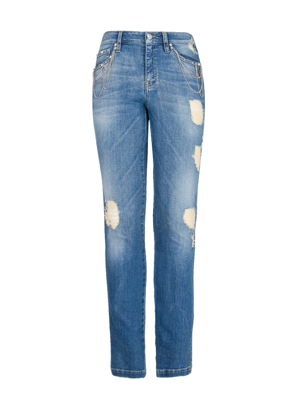 Super slim-fit chain Loulou jeans