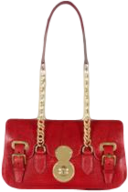 Ricky Lizard Chain-Handle Bag