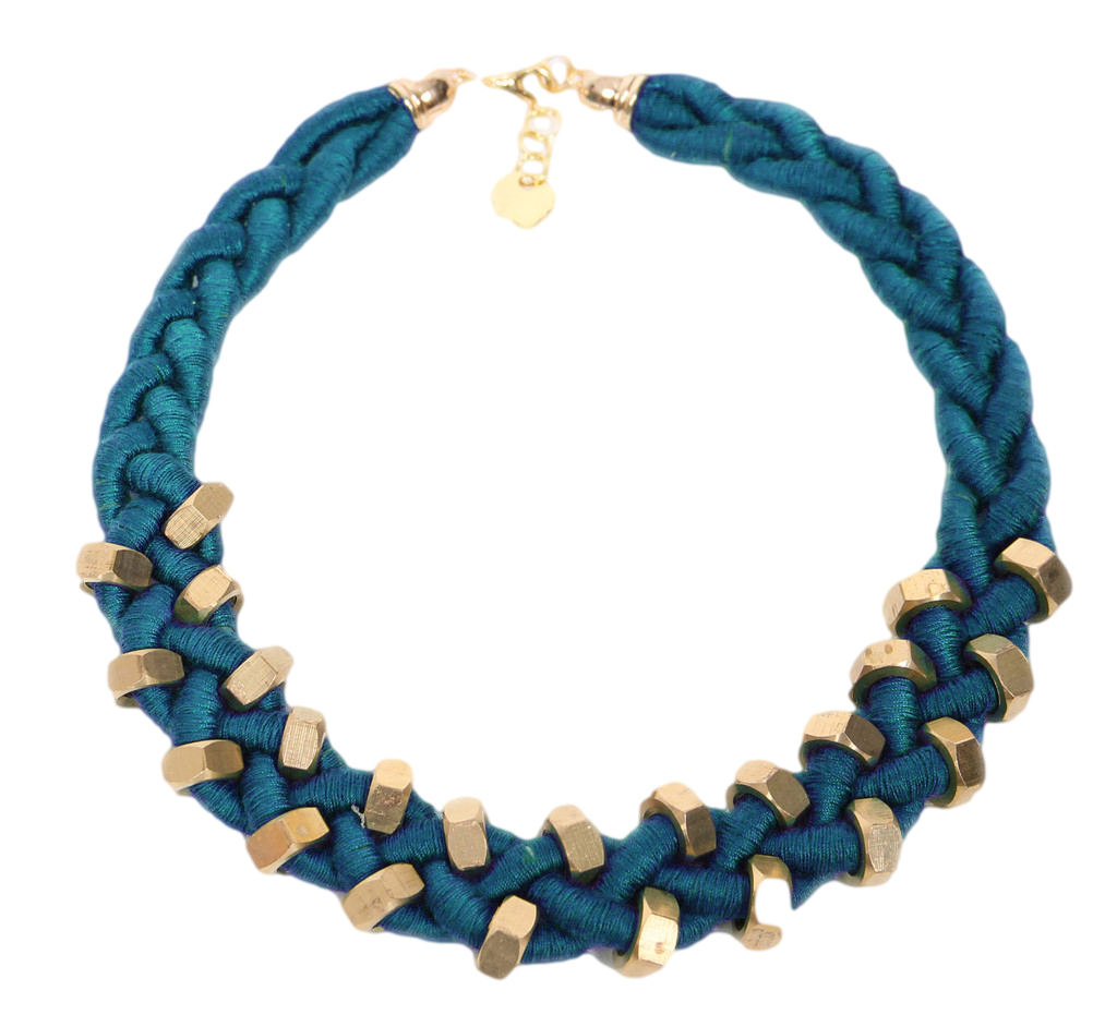 Aqua Blue Sojourn Necklace